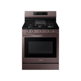 6.0 cu. ft. Smart Freestanding Gas Range with No-Preheat Air Fry, Convection+ & Stainless Cooktop in Tuscan Stainless Steel