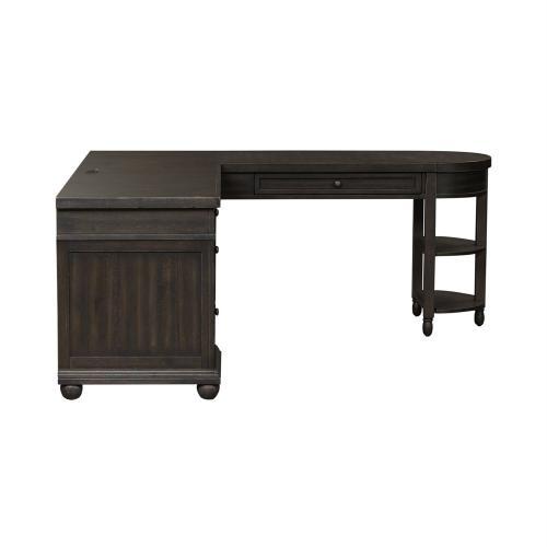L Shaped Desk Set