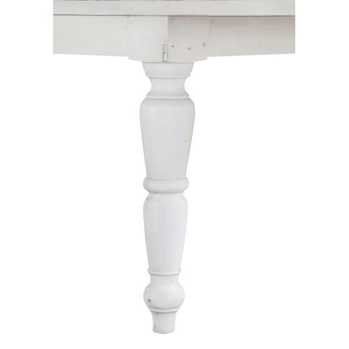 Abaco Gathering Height Dining Table, Country White D848-13