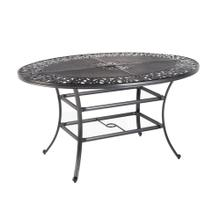 """Product Image - Cantabria 50""""x70"""" Oval Gathering Table w/umb. hole"""