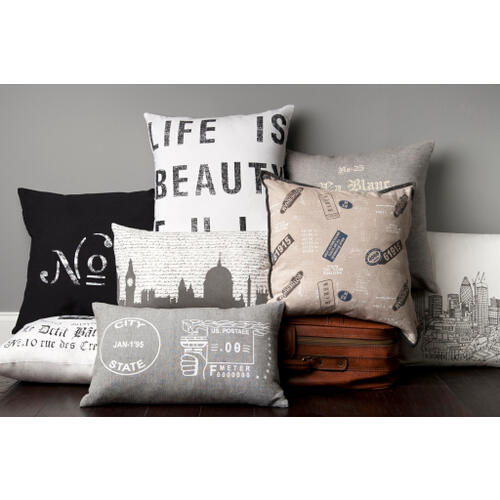 "Surya - Decorative Pillows ST-074 22""H x 22""W"