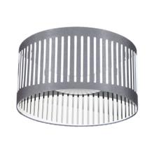 14w Slit Drum LED Flush Mount, Grey