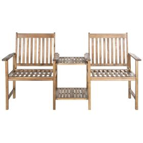 Brea Twin Seat Bench - Natural