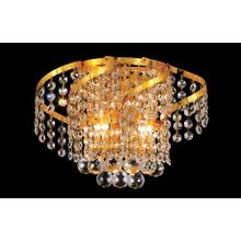 Belenus Collection Wall Sconce Gold Finish 2Lt