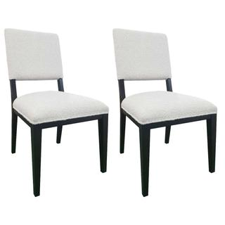 See Details - Owen Upholstered Dining Chair Set of 2