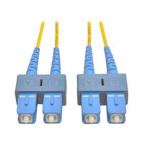 Duplex Singlemode 9/125 Fiber Patch Cable (SC/SC), 1M (3 ft.)