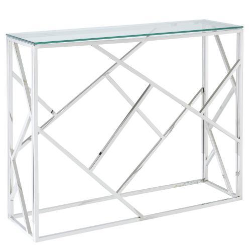 Juniper Console Table in Silver