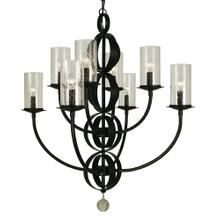 8-Light Compass Dining Chandelier