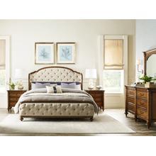 See Details - King Glendale Uph Shelter Bed Complete