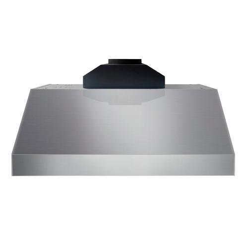 30 Inch Professional Range Hood, 11 Inches Tall In Stainless Steel