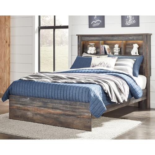 Signature Design By Ashley - Drystan Full Bookcase Bed