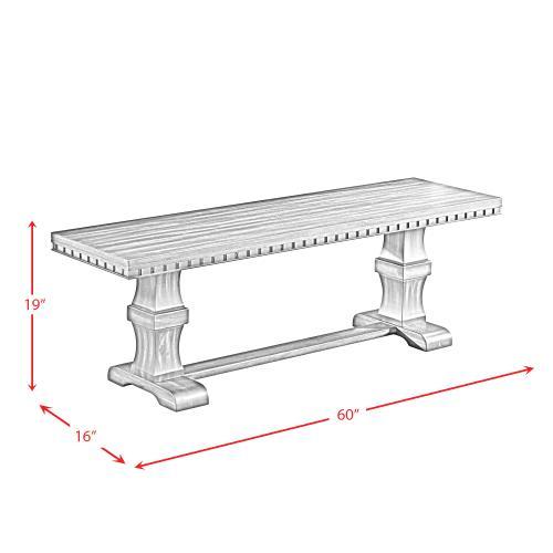Morrison Wooden Bench
