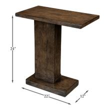 Vineyard Service Side Table