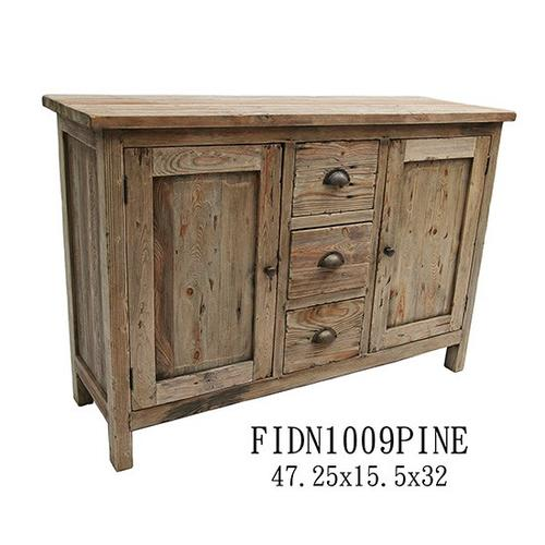 Product Image - Solid Reclaimed Pine Cabinet, 47.25x15.5x32, 1pk 16.96'