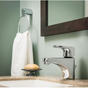 Edgestone chrome towel bar/towel ring