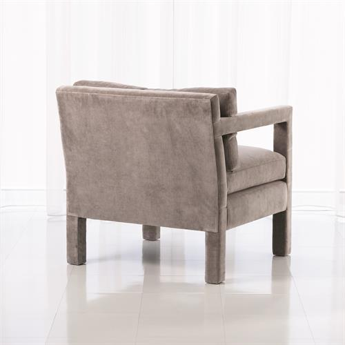 Swank Club Chair-Grey