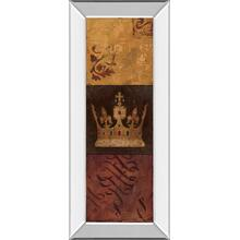 """Regal Panel I"" By Avery Tillmon Mirror Framed Print Wall Art"