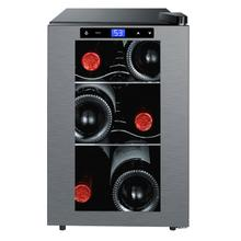 6 Bottle Thermoelectric Countertop Wine Cooler