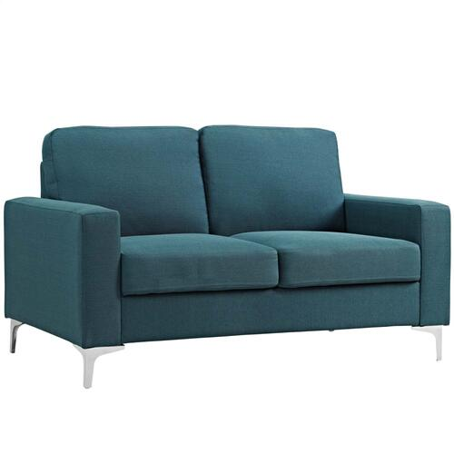 Allure 3 Piece Sofa and Armchair Set in Blue