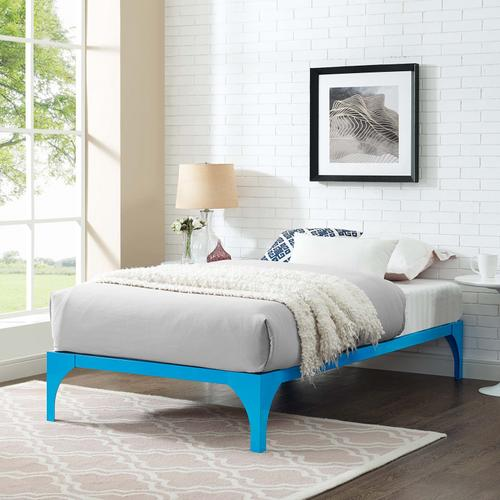 Modway - Ollie Twin Bed Frame in Light Blue