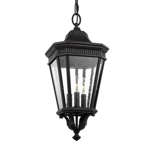 Cotswold Lane Small Pendant Black