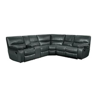 See Details - Pecos  Reclining Sectional w/ Left Console