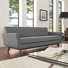 Engage Upholstered Fabric Sofa in Expectation Gray