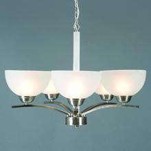 Alta Peak Collection Five Light Chandelier
