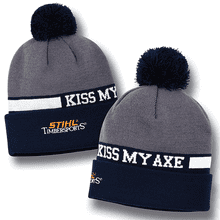 Your favorite STIHL TIMBERSPORTS® tagline on a knit cap!