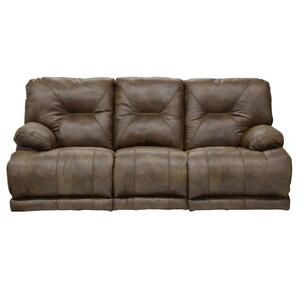"Power ""Lay Flat"" Recliner - Brandy"
