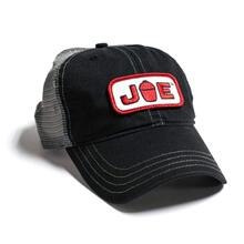 Mesh Back Joe Hat- Black\/ Charcoal
