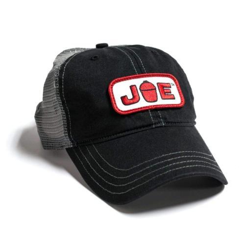 Mesh Back Joe Hat- Black\/ Charcoal