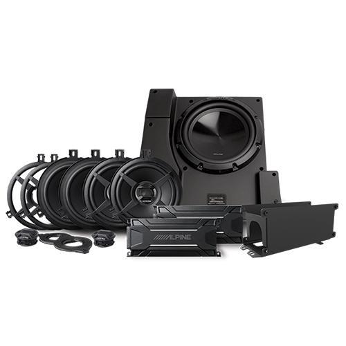 Direct Fit Weather Resistant Sound System for 2011-2018 Jeep Wrangler JK Unlimited