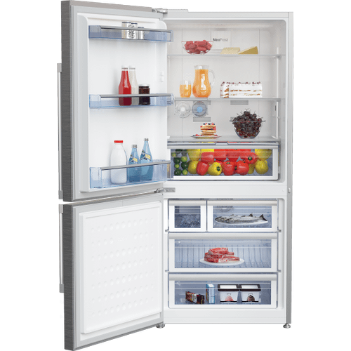 29.133858, Bottom Freezer Refrigerator with -