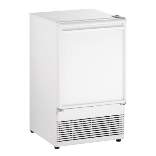 "15"" Crescent Ice Maker White Solid Field Reversible"