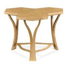 Architectural Coffee Table with Tripal Hexagonal Oysters