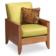 View Product - Justine Easy Chair, Fabric Cushions