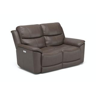 See Details - Cade Power Reclining Loveseat with Power Headrests and Lumbar