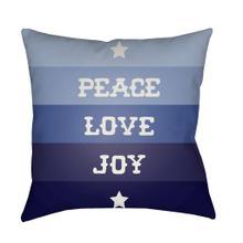"""Peace Love Joy HDY-077 20"""" x 20"""""""