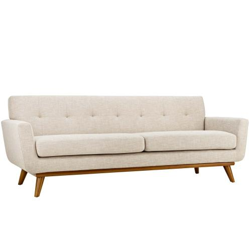 Modway - Engage Loveseat and Sofa Set of 2 in Beige