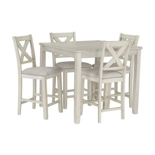 Standard Furniture - Sandpiper Counter Height Table and Chairs Set