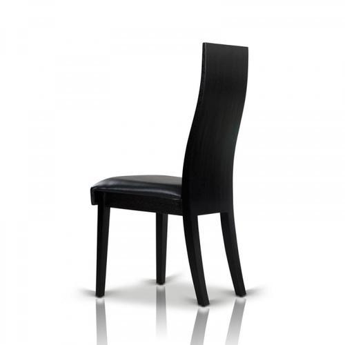 Escape - Modern Black Oak Dining Chair (Set of 2)