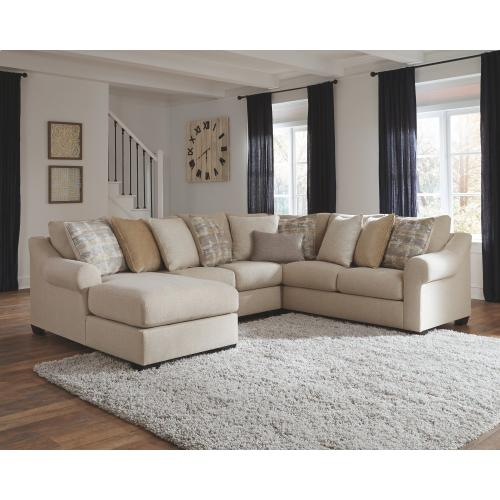 Benchcraft - Ingleside 4-piece Sectional With Chaise