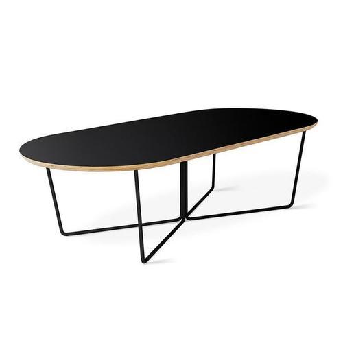 Array Coffee Table - Oval Black