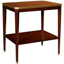 See Details - Austell Side Table with Wood Top