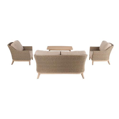 "Gracelyn 51"" Rectangular Acacia FSC KD Coffee Table"