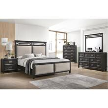 1056 Ashton Queen Bed with Dresser and Mirror
