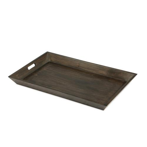 Medium Tray - Deep Charcoal Finish