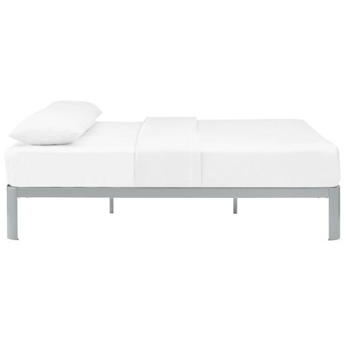 Corinne Queen Bed Frame in Gray