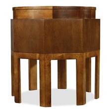 Trilogy Octagonal Accent Table/Oval Cocktail Table/Nesting Tables-4 pc. Group-Floor Samples-**DISCONTINUED**